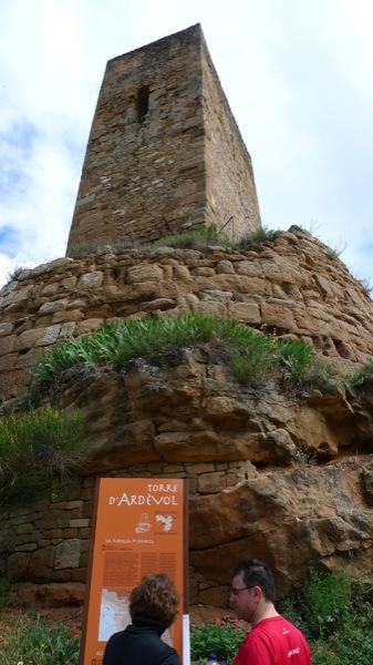08.05.2011 Ardèvol estrenava indicadors informatius referents a la seva història i la torre de guaita medieval  Ardèvol -  Xavier