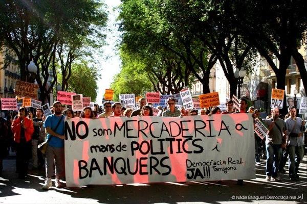 20.05.2011 Manifestació a Tarragona  Tarragona -
