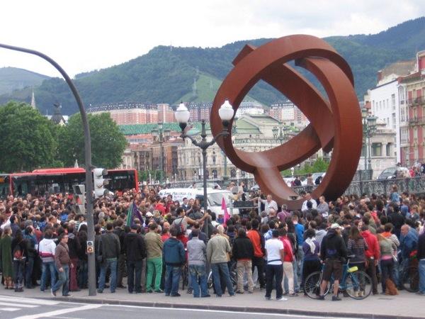 20.05.2011 Manifestació a Bizkaia  Bizkaia -
