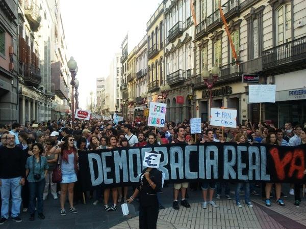 20.05.2011 Manifestació a les Canaries?  Canàries -