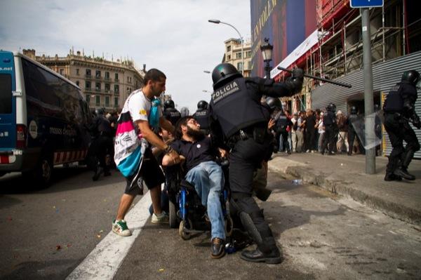 27.05.2011 No hi han paraules  Barcelona -  acampadabcn