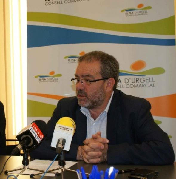 Joan Reñé, president de la Diputació de Lleida