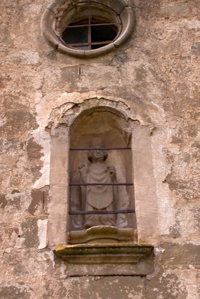 11.06.2010 detall de la imatge de sant serni  Sant Serni -  Ramon Sunyer