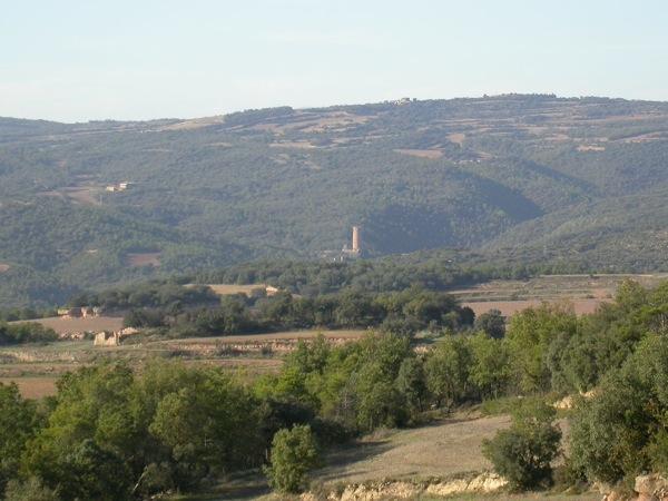 Torre de Vallferosa des de sant Serni Foto: Ramon Sunyer - Sant Serni