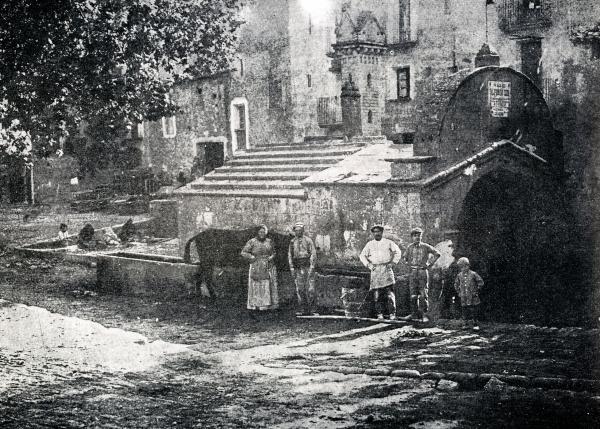 10.05.1914 Font de la vila (1914)  Torà -