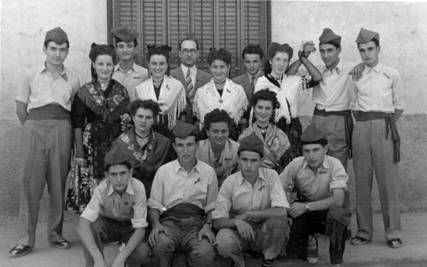 12.04.1952 Caramellaires anys 50  Torà -
