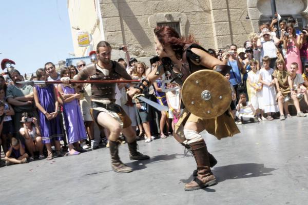 08.07.2011 Lluita de gladiadors  Guissona -  Joan G