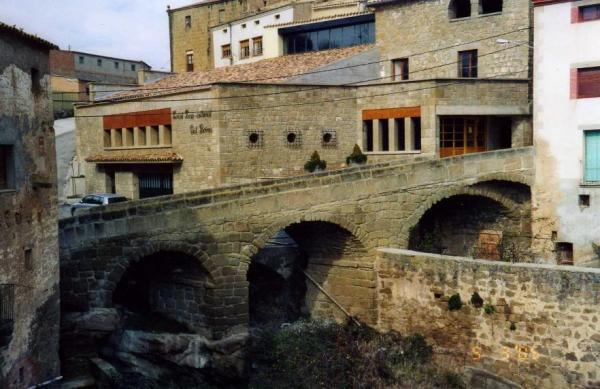 Pont vell - Biosca