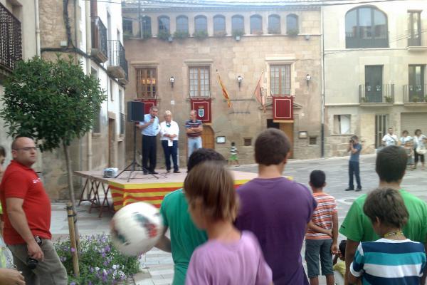31.08.2011 Pregó a càrrec de Miquel Canals  Torà -  Ramon Sunyer