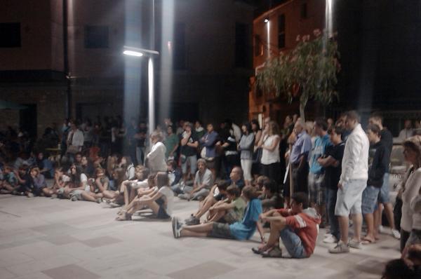 02.09.2011 Actuació del grup Cop de Mall  Torà -  Ramon Sunyer