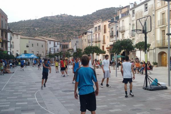 02.09.2011 Campionat basquet 3x3  Torà -  Ramon Sunyer