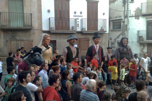 04.09.2011 Cercavila amb els gegants  Torà -  Ramon Sunyer