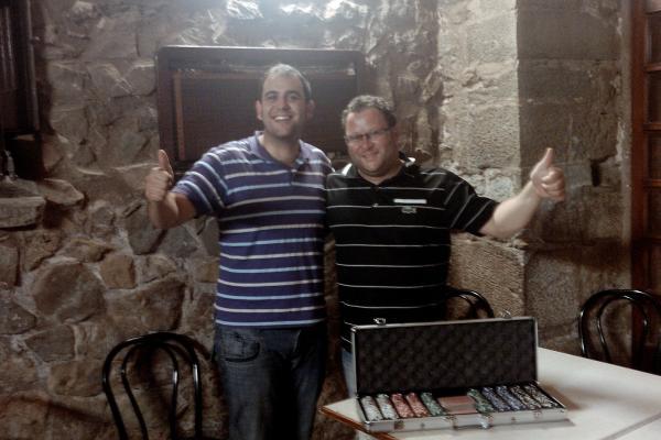 04.09.2011 Campionat de pòquer, els guanyadors  Torà -  Ramon Sunyer