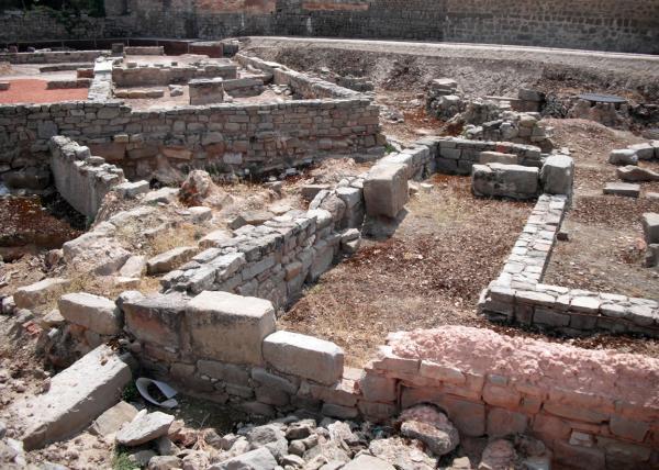 Yacimiento romano de Parc arqueològic Iesso -  (2011)