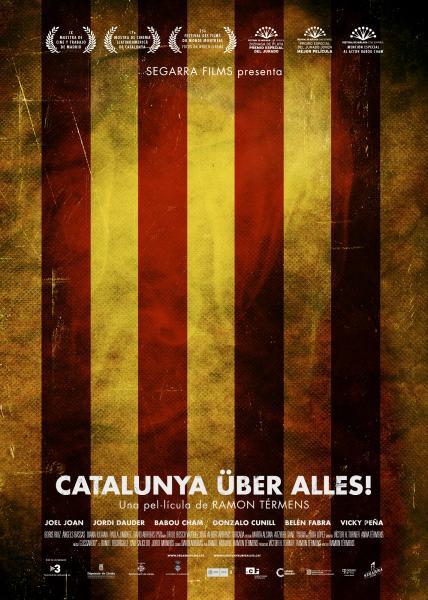 Cartell de la pel·lícula Catalunya über alles -