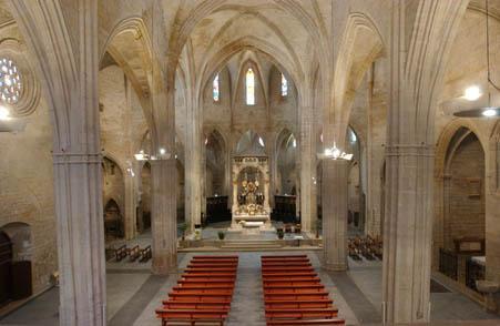 Església de santa Maria - Cervera