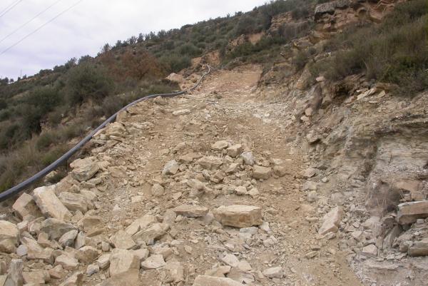 27.12.2011 El camí, ara eixamplat  L'Aguda -  Ramon Sunyer