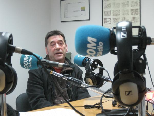 Els estudis de Ràdio Altiplà -