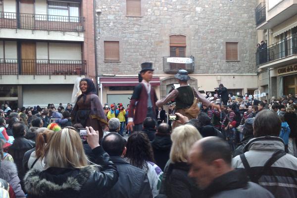 11.02.2012 Ball dels Gegants  Torà -  Ramon Sunyer