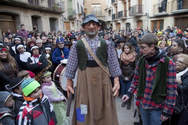 El Brutet, gegantó, incorporat el 2012 Foto: Xavi Santesmasses - Torà
