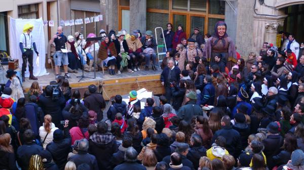 11.02.2012 Pregó  Torà -  Xavi