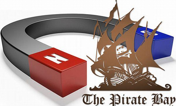 The Pirate Bay es passa als magnet