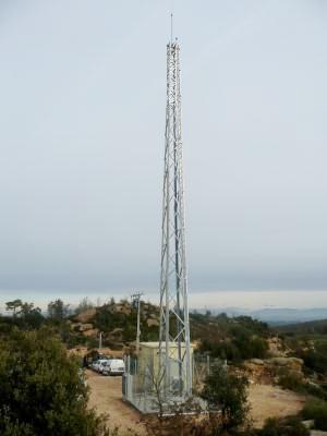centre de telecomunicacions TORA – SERRA DE CLARET