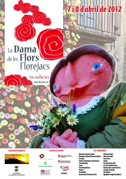 12.03.2012 Cartell de la Fira de la flor 2012  Florejacs -