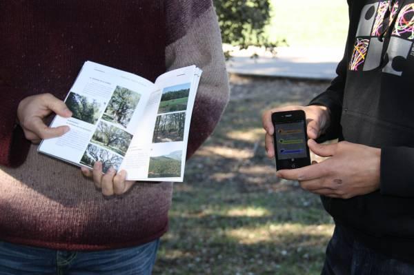 L'aplicació mapes perquè l'usuari pugui localitzar a través del GPS del seu telèfon mòbil el punt d'interès