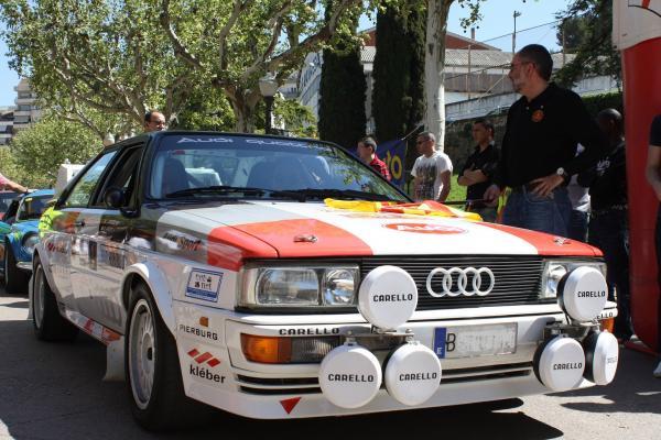 Audi participant a la edició de la Nocturna Clàssic Ral·li del 2011 -