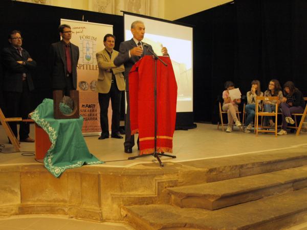 Parlament de l'Armand Forcat guardonat amb el premi Sikarra 2012