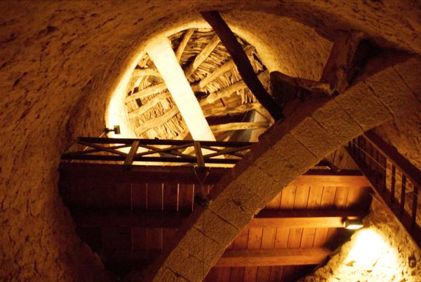 Arc i trespols de la torre de Vallferosa Foto: Joan Menchon - Vallferosa