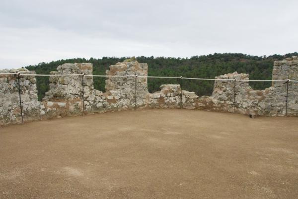 13.04.2012 Merlets i terrassa després de la intervenció arquitèctònica  Vallferosa -  Joan Menchon