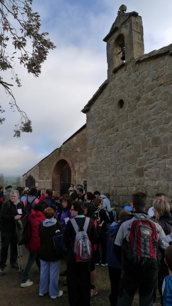 29.04.2012 Inici de la caminada a Cal Millet  Puigredon -  Xavi
