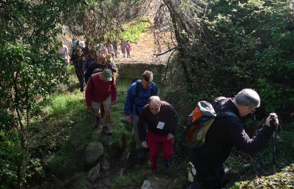 29.04.2012 Pujant per la font dels Caus  Puigredon -  Xavi