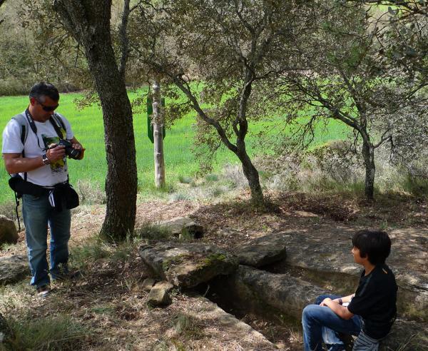Hiking trail of Vallferosa, Sant Serni, Claret - Author Xavi (2012)