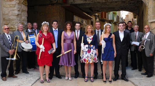 06.05.2012 Els músics i les priores i priors  Torà -  Xavi
