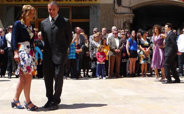 06.05.2012 La dansa  Torà -  Xavi