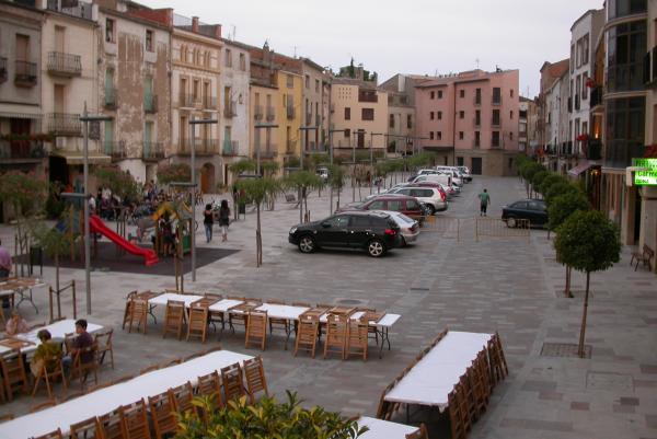 30.06.2012 Plaça del vall  Torà -  Ramon Sunyer
