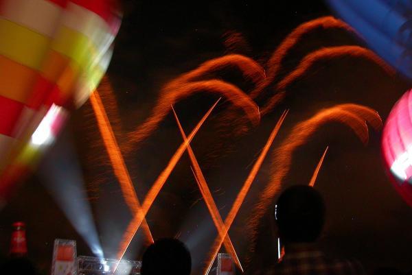 08.07.2012 Night Glow i piromusical a càrrec de Pirotècnia Igual  Igualada -  Ramon Sunyer