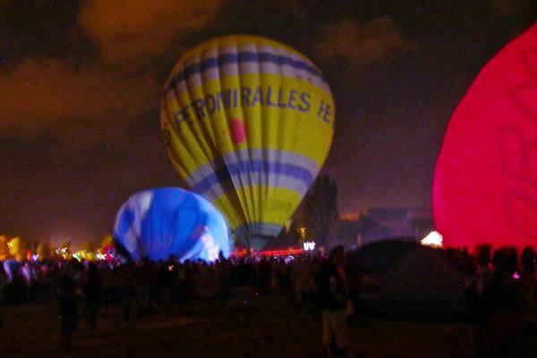 08.07.2012 Night Glow  Igualada -  Ramon Sunyer