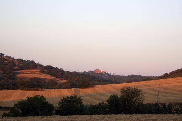 09.07.2012 paisatge després de segar  Calonge de Segarra -  ramon sunyer