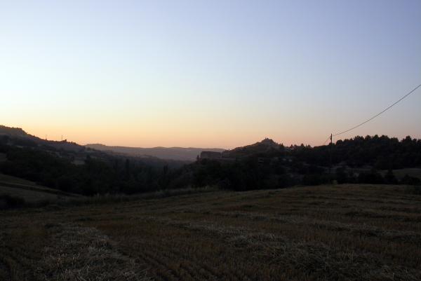 09.07.2012 posta de sol segarrenca  Calonge de Segarra -  ramon sunyer