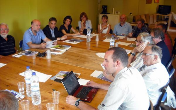 Reunió de treball d e les entitats de la Segarra històrica  - Els Prats de Rei