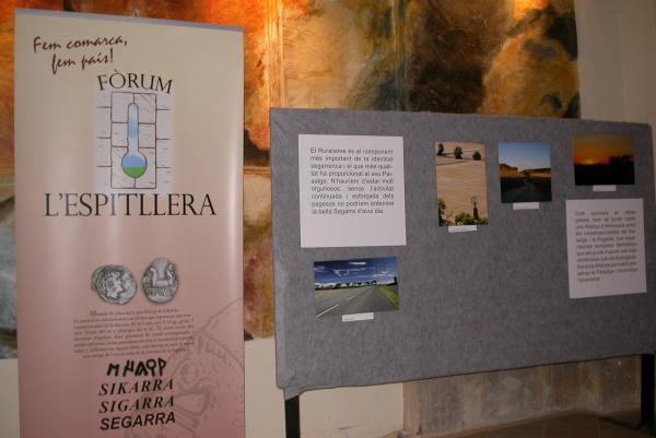 01.09.2012 Exposició Un Paisatge per demà  Torà -  Ramon Sunyer