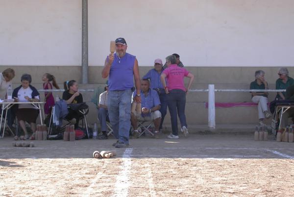 01.09.2012 Tirada de bitlles  Torà -  Ramon Sunyer