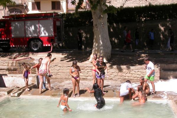 02.09.2012 Festa de l'escuma  Torà -  Ramon Sunyer