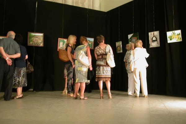 02.09.2012 Exposició de pinturas  Torà -  Ramon Sunyer
