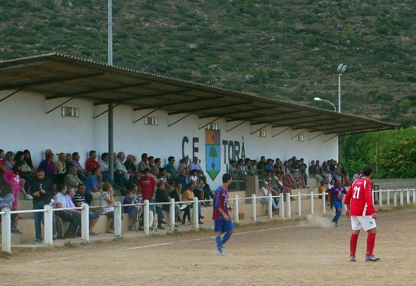 02.09.2012 Futbol Sanaüja-Torà, la màxima rivalitat  Torà -  Xavi