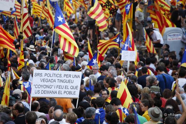 Manifestació diada-12 - Barcelona